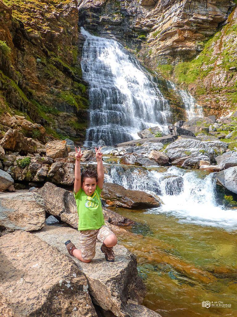 Cascada de la Cola de Caballo, Valle de Ordesa - ruta en