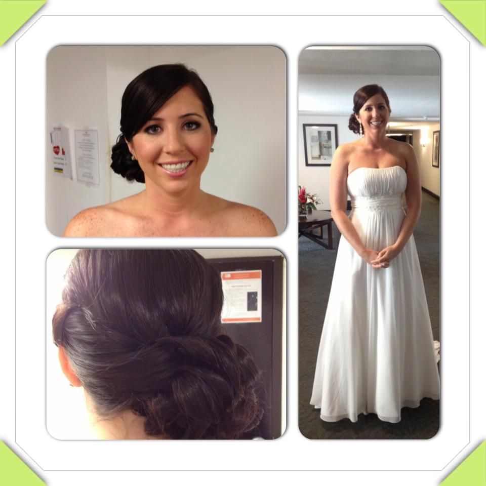 A simple clean and beautiful look hair and makeup by michele