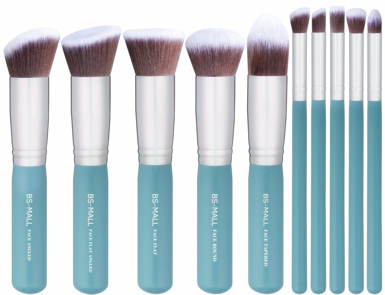 BSMALL 2016 New Premium Synthetic Kabuki Makeup Brush Set