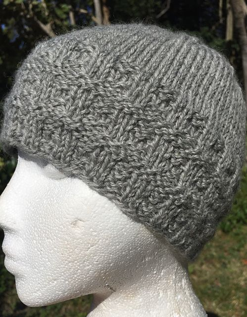 Ravelry  Banded Beanie Hat pattern by Virginia Davlin  9e9f63d0dbc