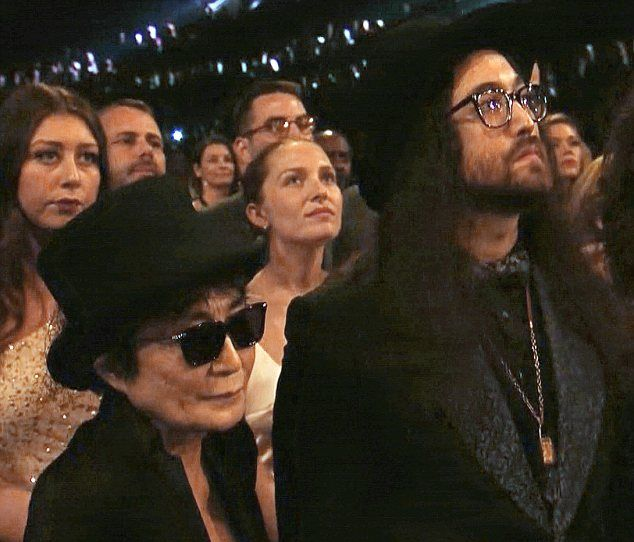 Yoko Ono Grooves As Paul McCartney And Ringo Starr Perform At