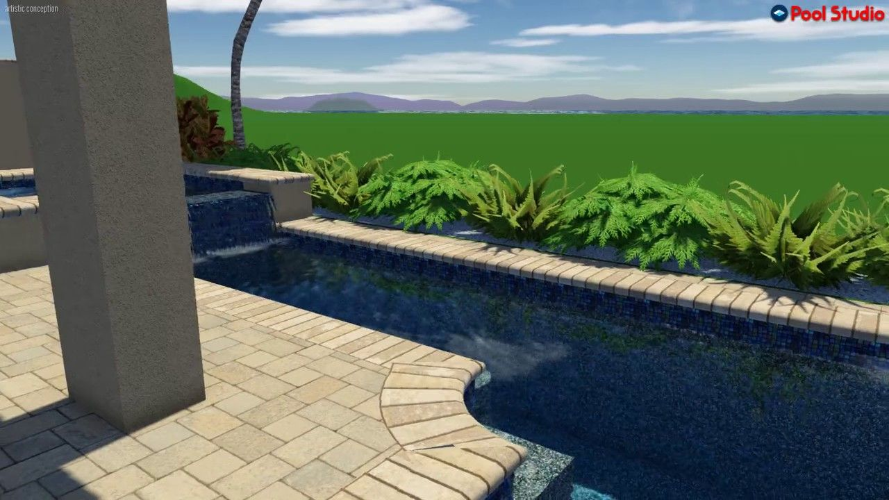 pool studio - 3d swimming pool design software. designed and