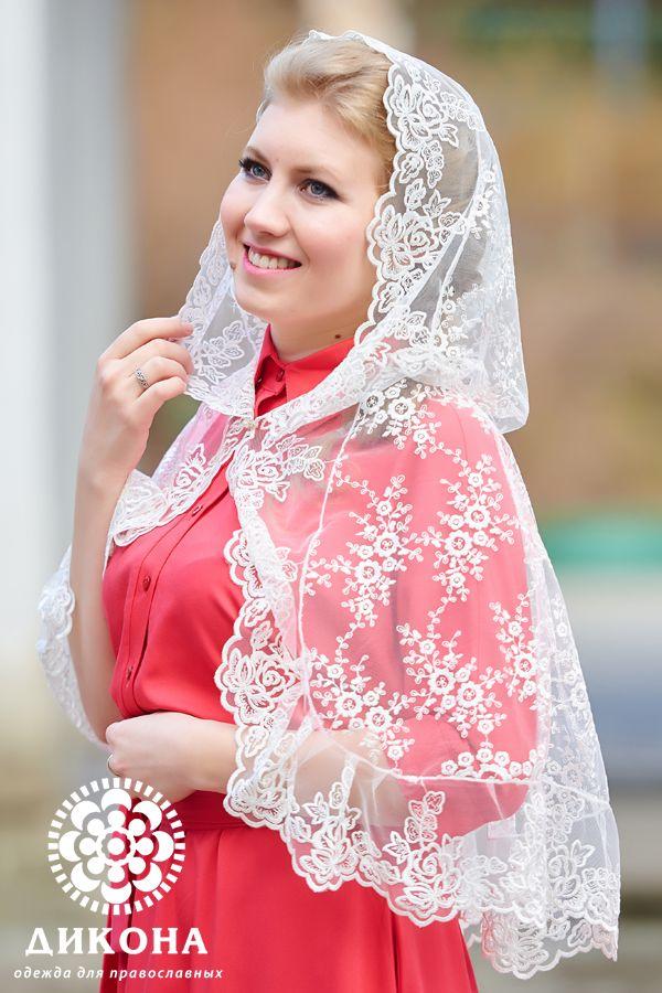 Капор для венчания №001 | Мода на хиджабы, Одежда и ...