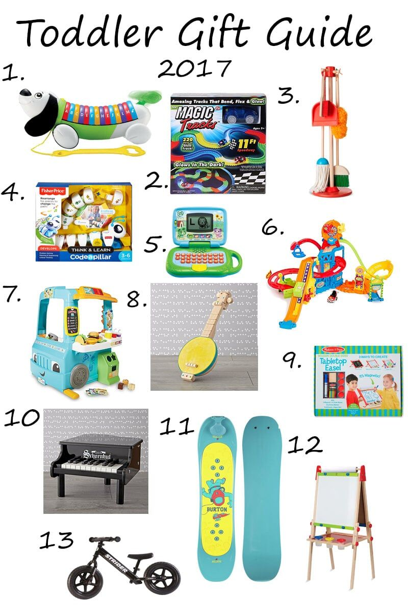 Christmas Gift Guide for Toddlers | Pinterest | Gift