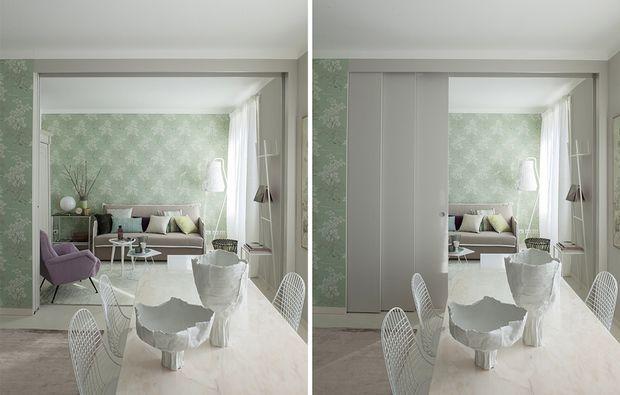Open space: come dividere cucina e soggiorno | casa Paola ...