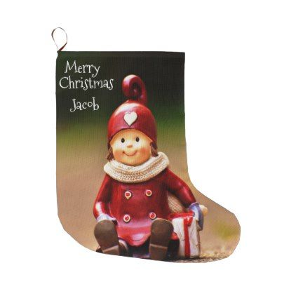 vintage style childrens christmas stocking - Funny Christmas Stockings