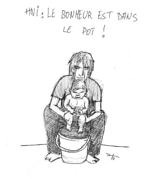 Hygiène naturelle infantile: pas de couche pour bébé (elimination communication)