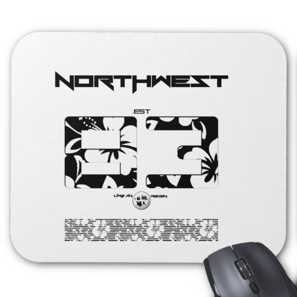 Northwest Fl Mouse Pad Custom Office Supplies Business Logo Branding