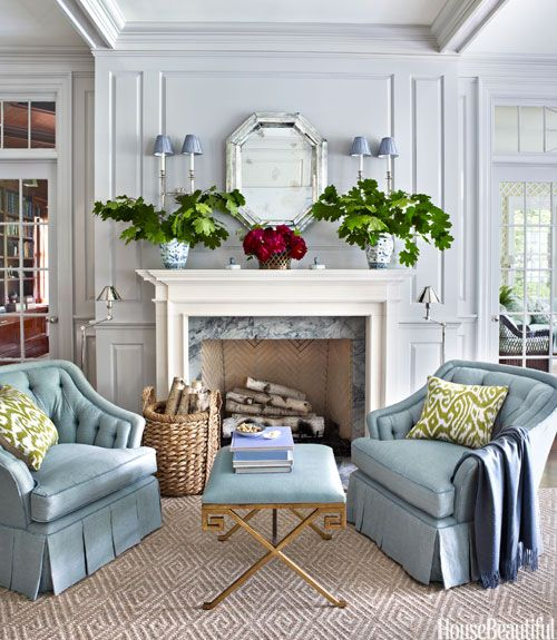 Beau In The Living Room Of A Greenwich, Connecticut, House, Designer Ashley  Whittaker Created