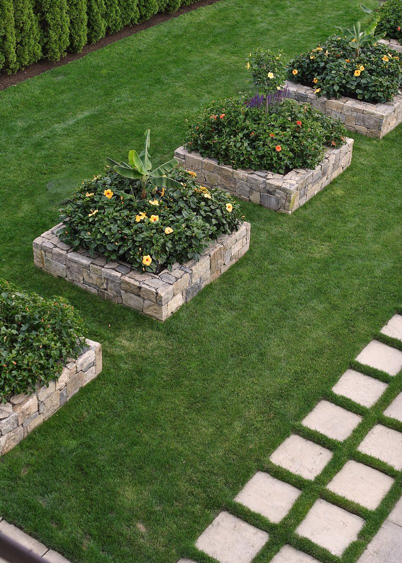 Janice Parker Landscape Architects Raised garden