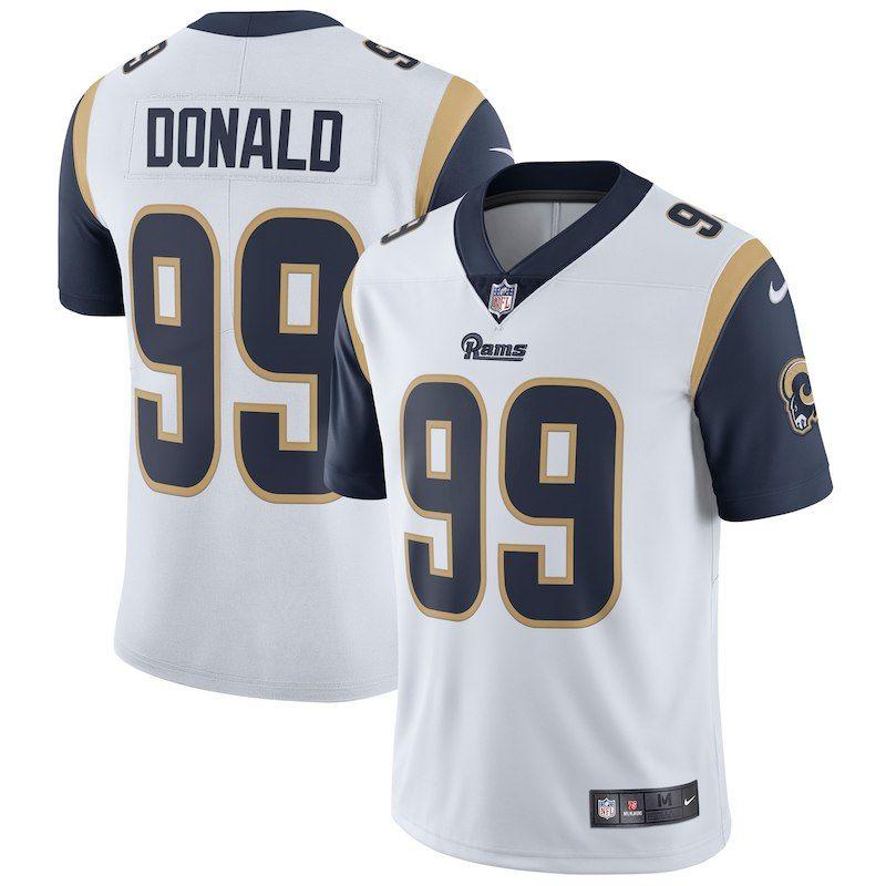 official photos b5924 0ea19 Aaron Donald Los Angeles Rams Nike Vapor Untouchable Limited ...