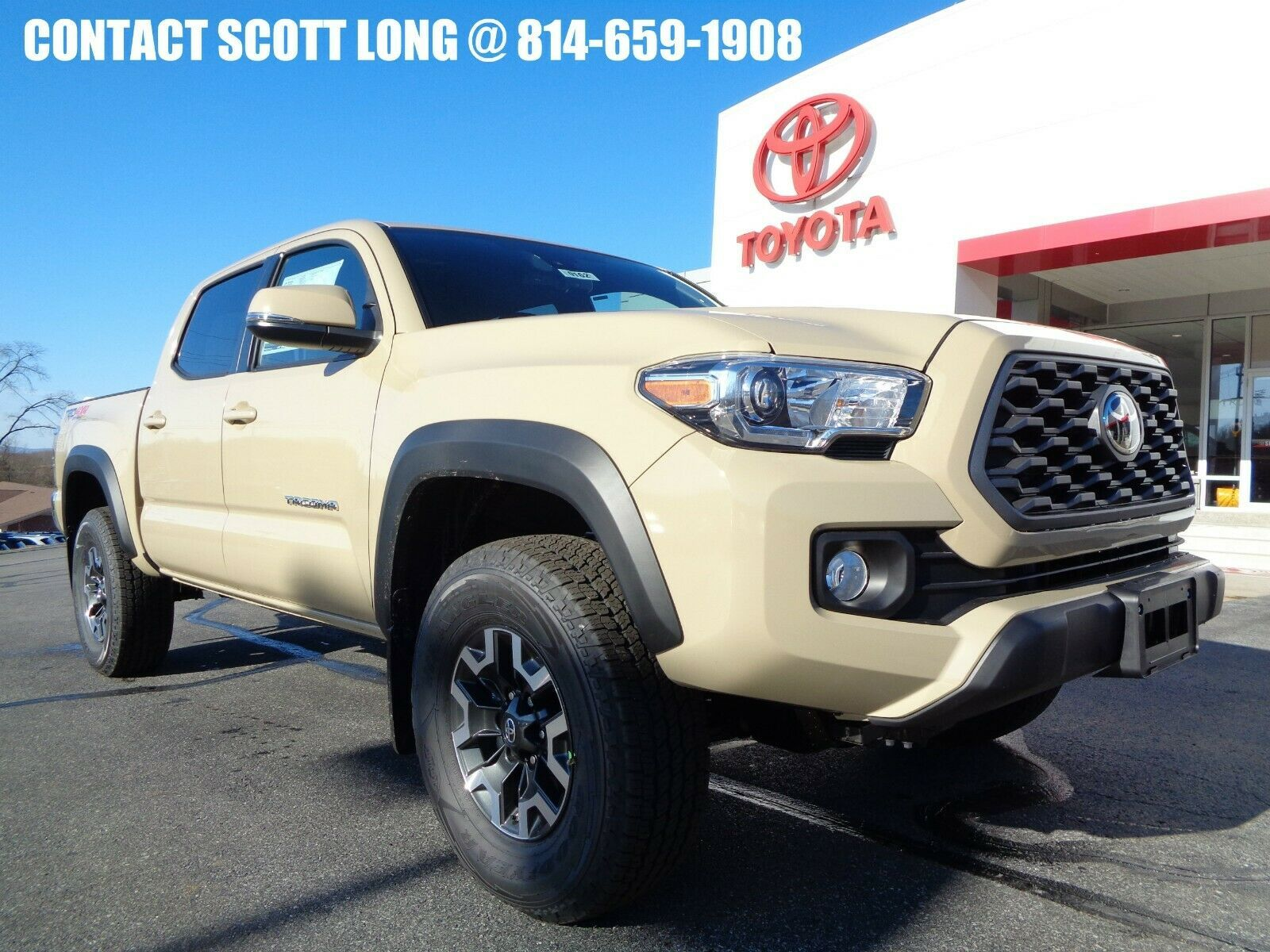 Used 2020 Toyota Tacoma New 2020 Double Cab 4 4 3 5l 4wd Trd Off Road New 2020 Tacoma Double Cab 4 4 Trd Off Road 4wd Apple Carplay Quicksand Paint 2020 In 2020 Toyota Tacoma Toyota Tacoma Double Cab Toyota
