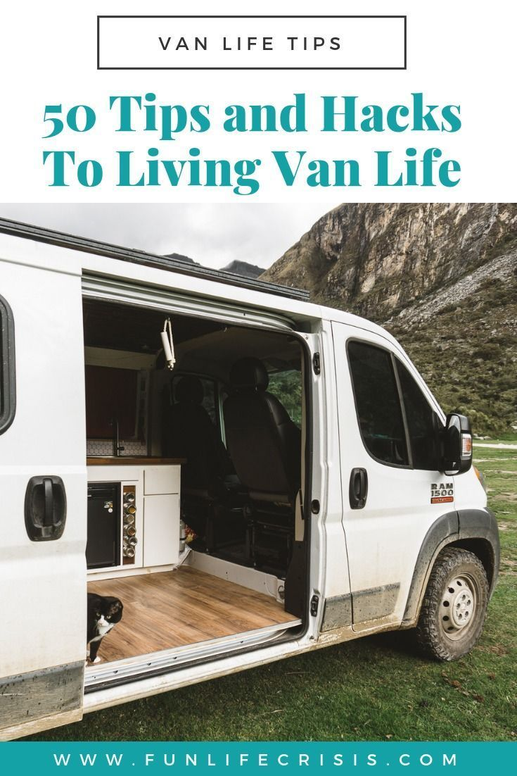 Photo of 50 Van Life Tips For Living On The Road