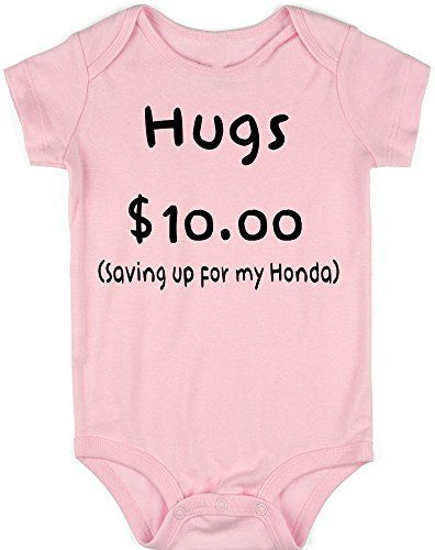 Anicelook Hugs 1000 Saving up for my Honda infant romper onesie creeper NB  Pink * Want to know more, click on the image.(It is Amazon affiliate link)  # ...