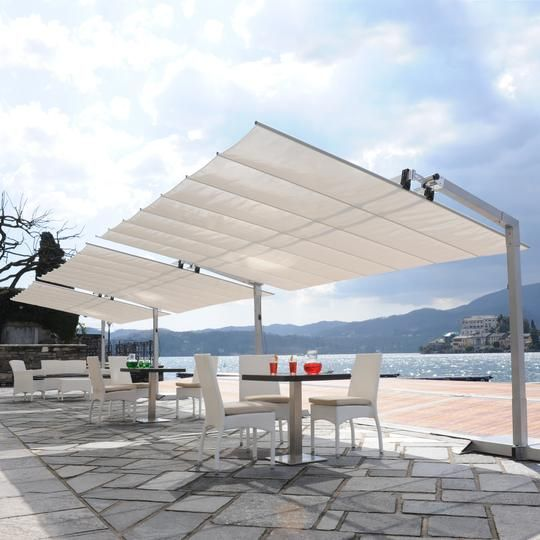 Flexy 10x16 Freestanding Dual-Post Awning In 2019