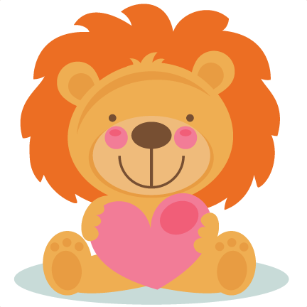 daily freebie 2 4 15 miss kate cuttables cute valentine lion rh pinterest co uk cute animal valentine clipart cute valentine clipart pinterest