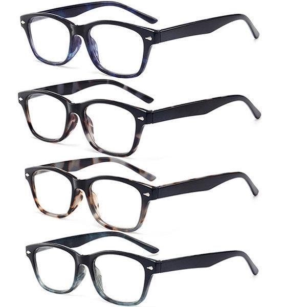 b0e51d39153 Mens Womens Casual Prescription Reading Glasses Fashion Cute Funky Computer  Presbyopic Glasses  Glasses  Men sAccessories