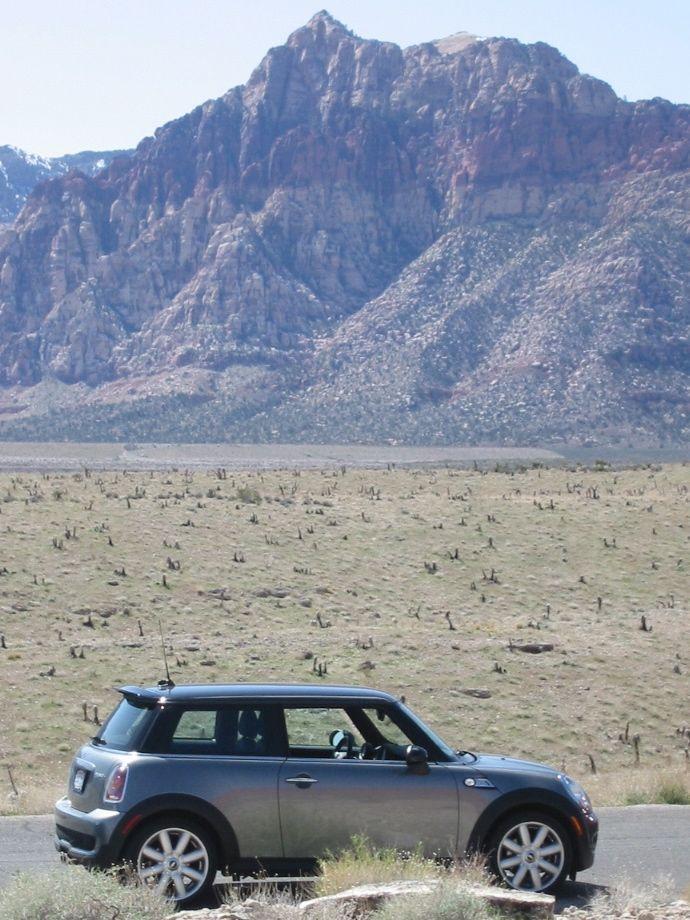 MINI in Desert