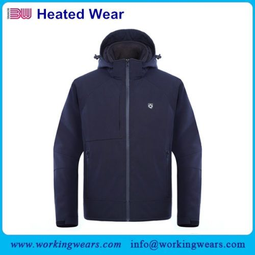 Battery Heated Clothing Heated Coats Clothes Cozywinters >> Heated Softshell Jacket Is Specially Designed For Men Not Only For