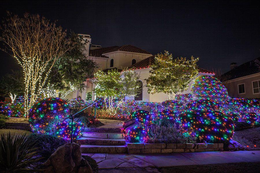 Full-Color-Christmas-Lights Christmas Lighting Pinterest