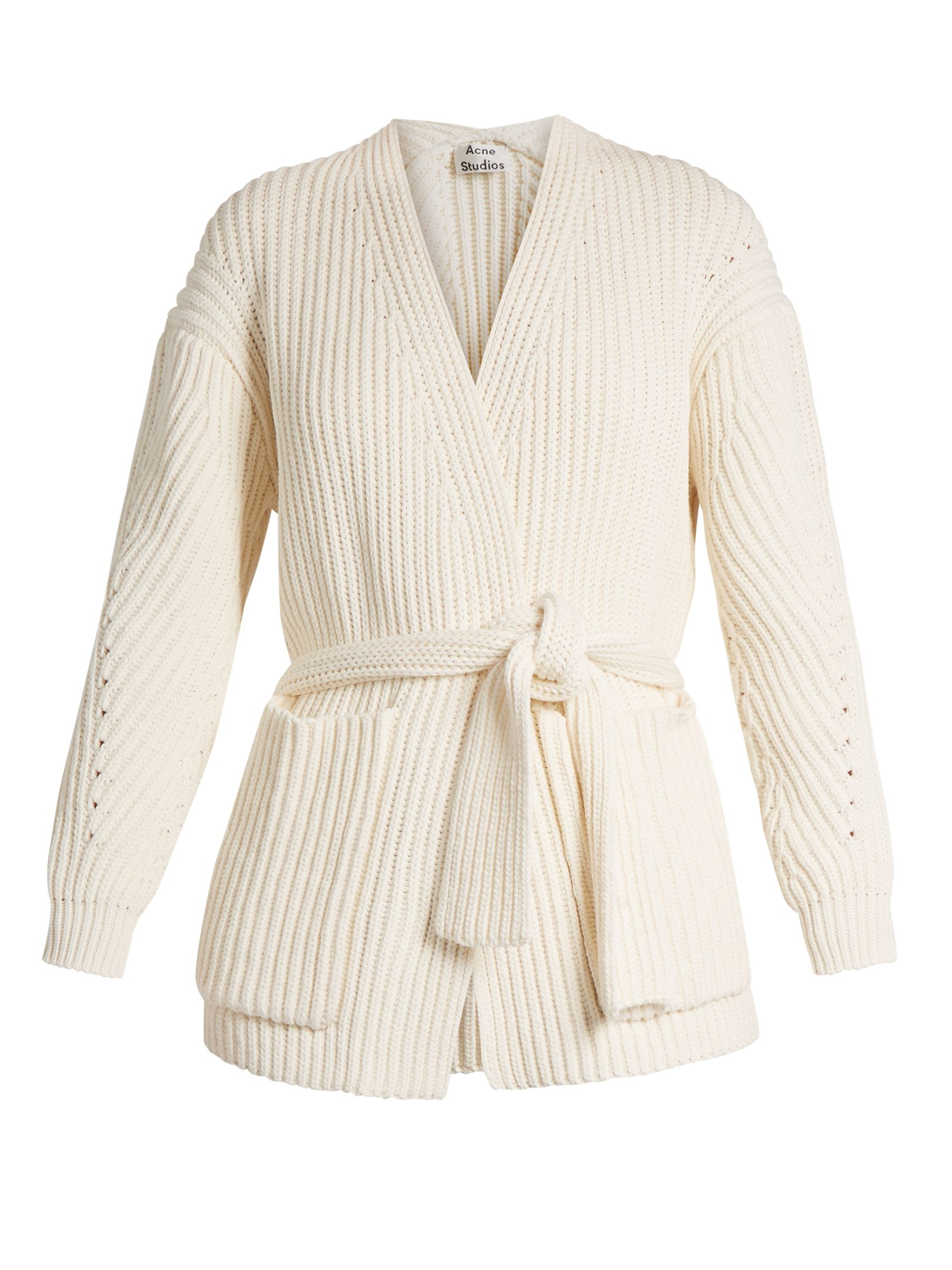 Click here to buy Acne Studios Beate Chunky cotton-blend cardigan ...