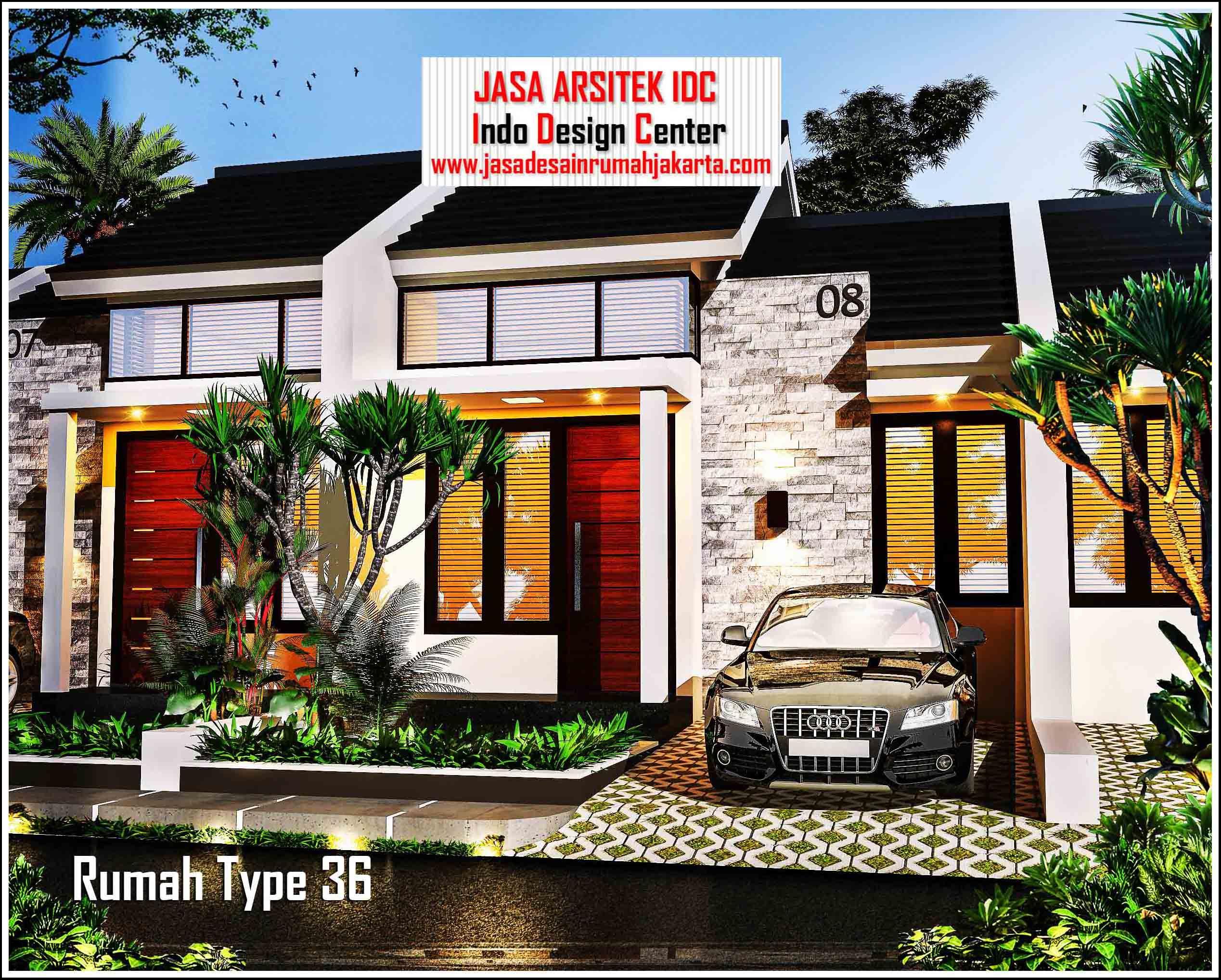 Jasa Arsitek Rumah Minimalis Type 36 ( Part 1 of 3) denah ...