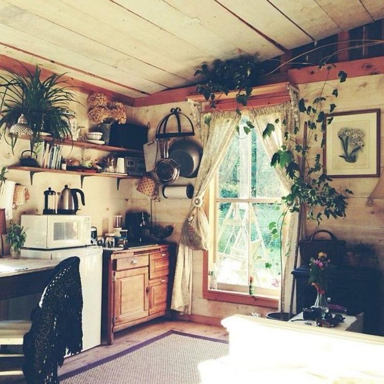 65 Rustic Bohemian Kitchen Decorations Ideas Kitchen Decor