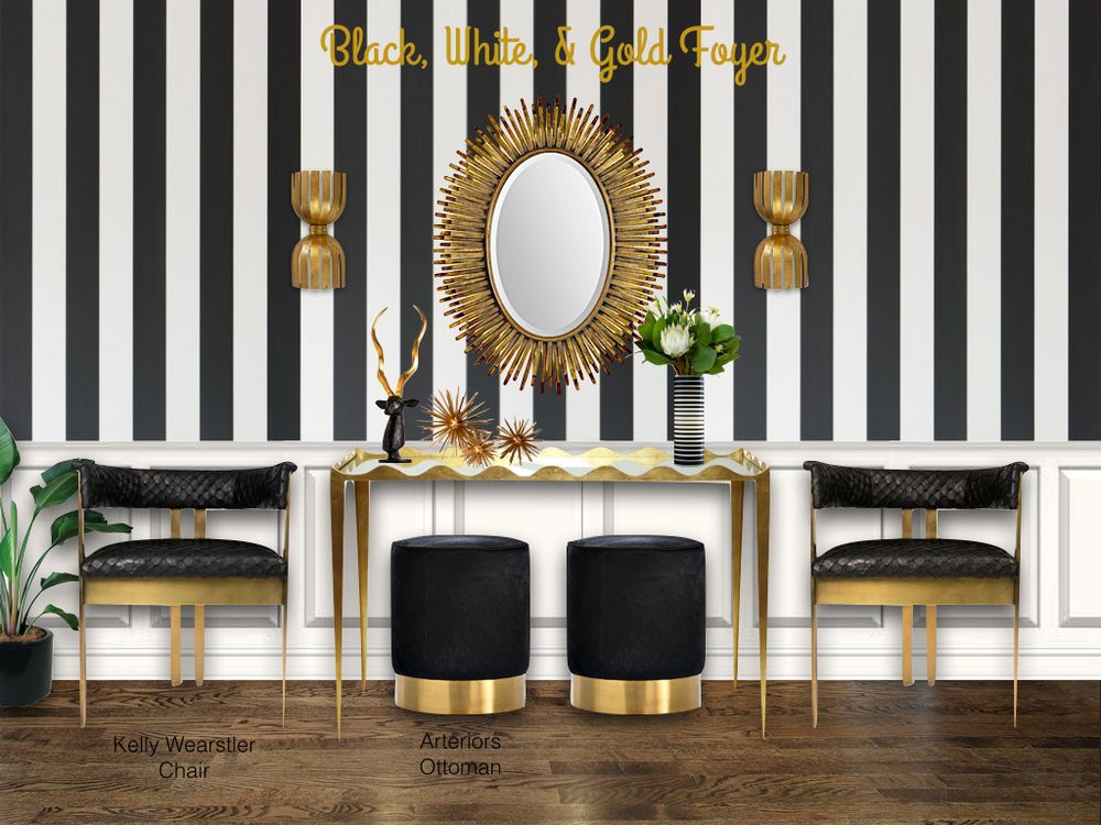 Black White Gold Wallpaper White And Gold Wallpaper Black And White Interior Gold Wallpaper Gold black and white wallpaper