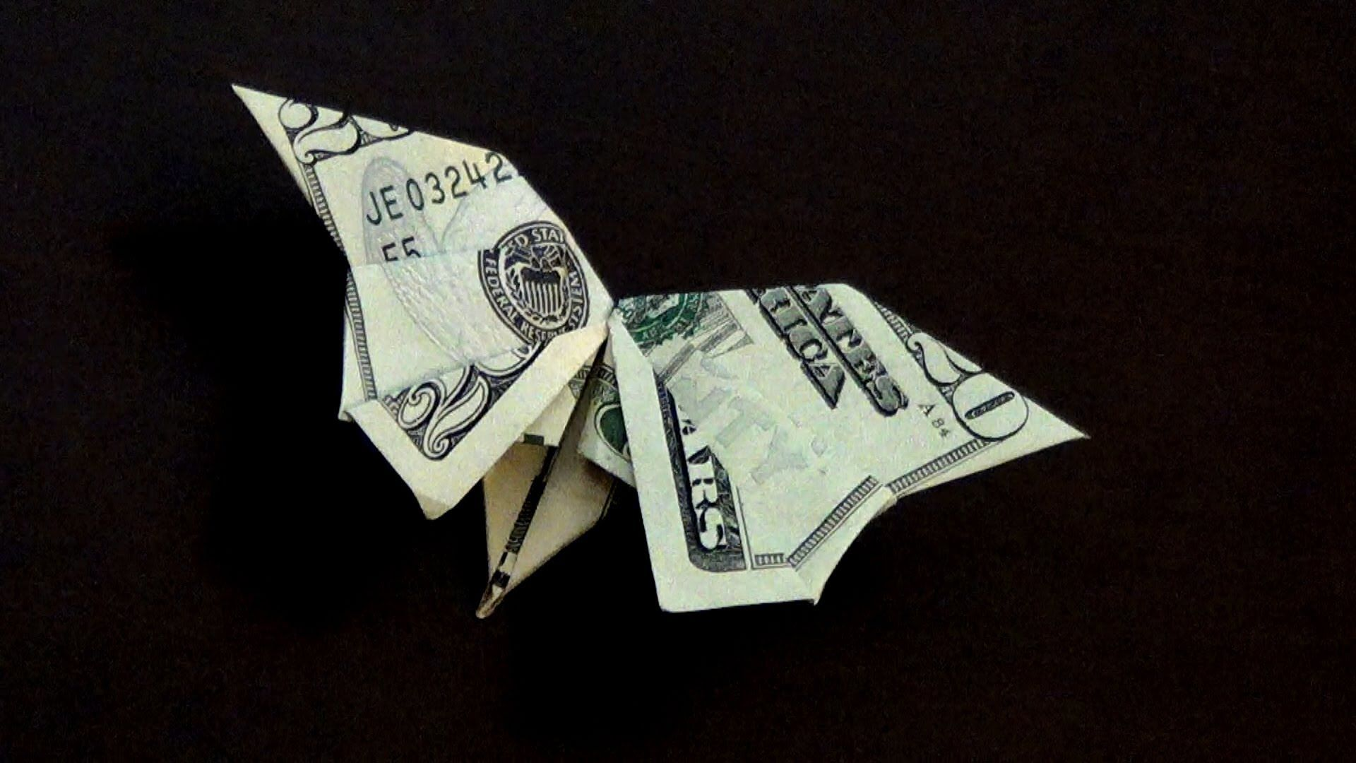 Cool Money Origami Butterfly Httpikuzoorigamicool