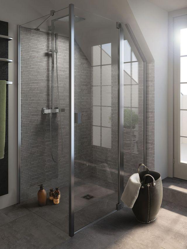 salle de bains b ton cir id es d co pour s 39 inspirer pinterest carrelage effet beton. Black Bedroom Furniture Sets. Home Design Ideas