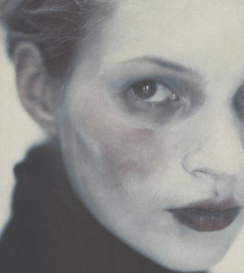 Kate Moss shot by Paolo Roversi.