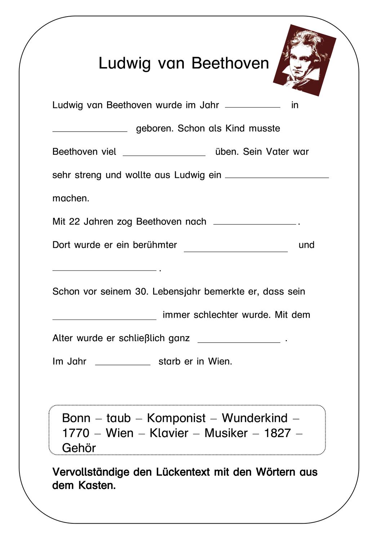 Komponisten Auf Der Spur Ludwig Van Beethoven