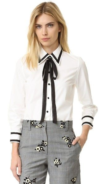 728f8867838838 Button Down Shirt with Tie in 2019 | Tops & Blouses(10/19/15 ...