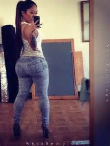 asian girls jeans Thick