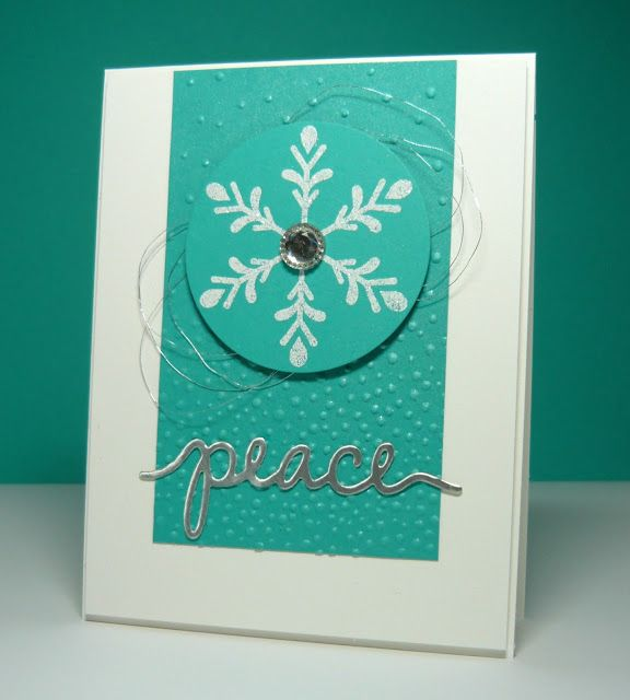 Perry Papercrafts Christmas Cards In Blue Projects To Try