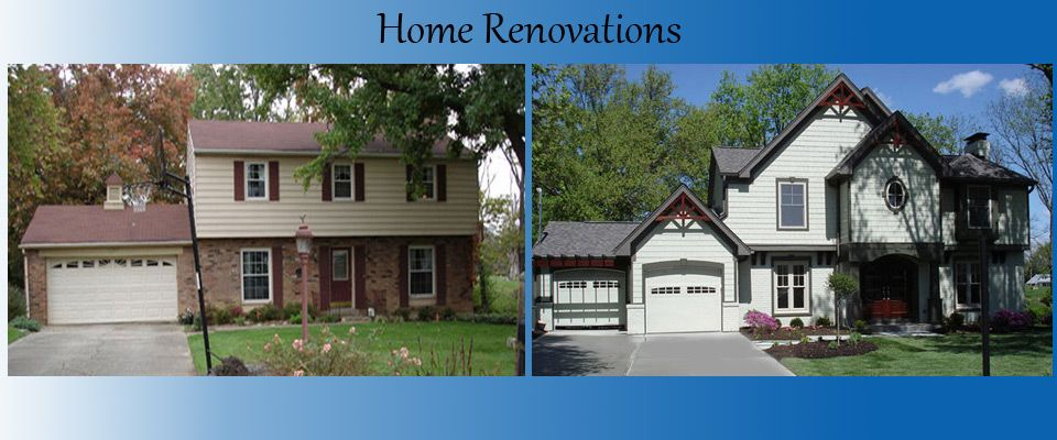 Home Exterior Renovation Before And After Mesmerizing Exterior Remodeling Before And After . Ohio Residential Design Decoration