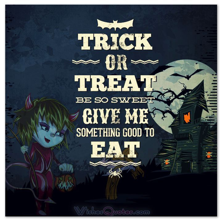 Amazing 40 Funny Halloween Quotes, Scary Messages And Free Cards