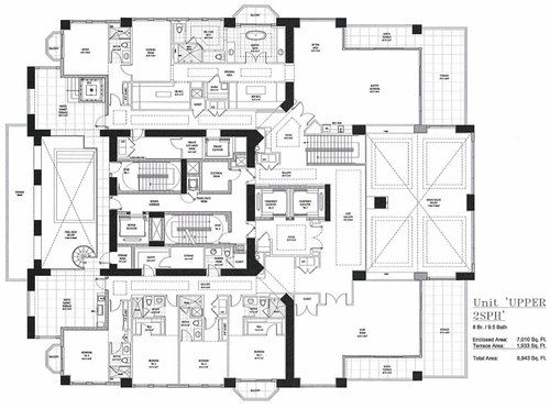 Here 39 s the floorplan to florida 39 s future priciest for Miami mansion floor plans