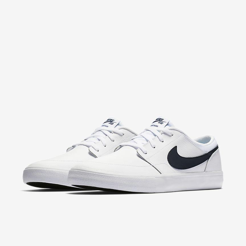 size 40 e39d5 29c59 Nike SB Solarsoft Portmore II Premium Men s Skateboarding Shoe