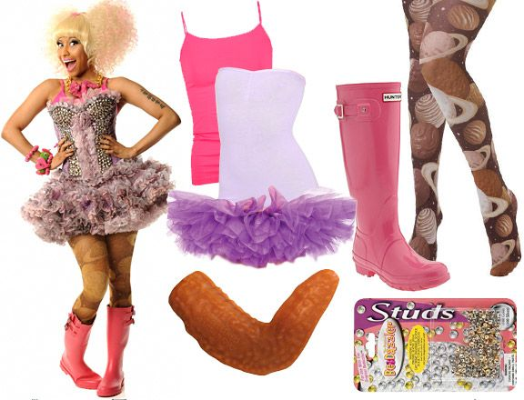 Halloween 2011 Nicki Minaj Costume Ideas! MTV, Ideias de fantasia - nicki minaj halloween ideas