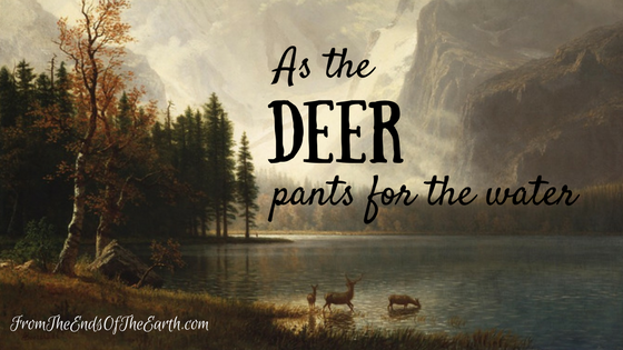 Have you noticed there are deer images showing up everywhere at the moment? Have a read of how I see God is speaking through this beautiful image, and what He is inviting us into. [fromtheendsoftheearth.com]