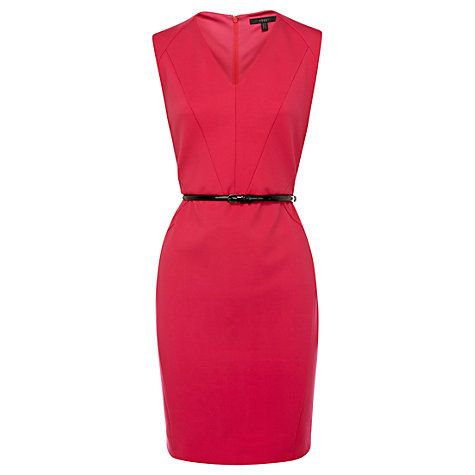 Buy Coast Alba Sleeveless Dress, Pink Online at johnlewis.com