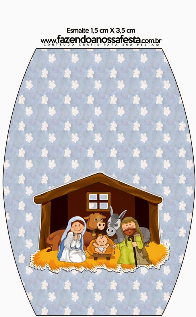 picture regarding Nativity Clipart Free Printable named Cute Nativity Scene: No cost Printable Sweet Bar Labels