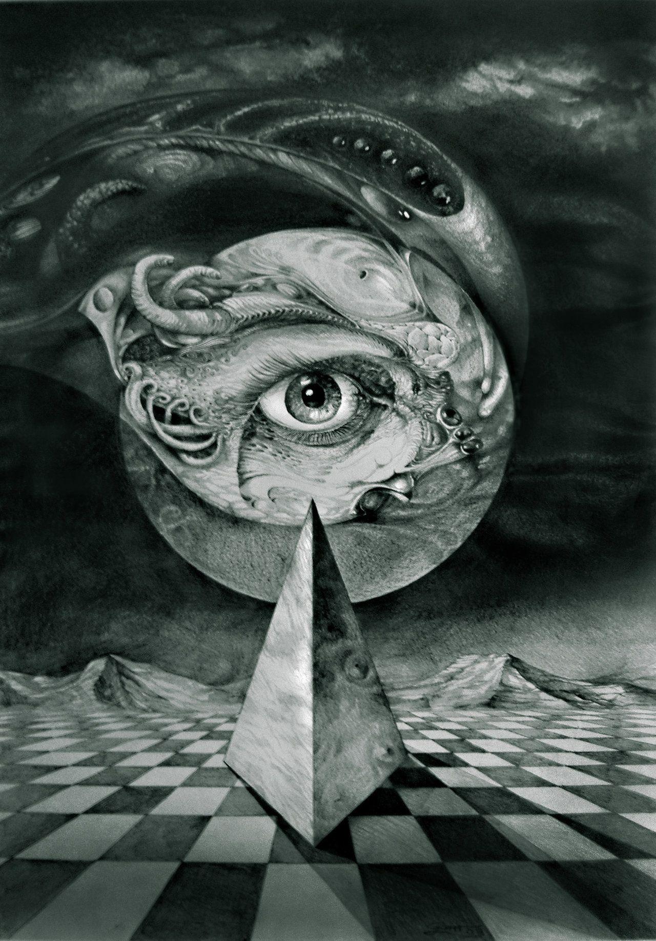 Dark Surrealism Art Drawings