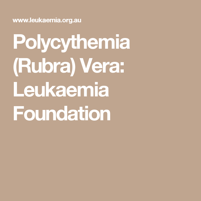 Pin On Polycythemia Vera And Positive Thoughts
