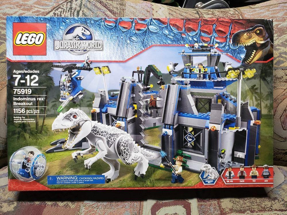 LEGO Jurassic World Indominus Rex Breakout (75919) 100