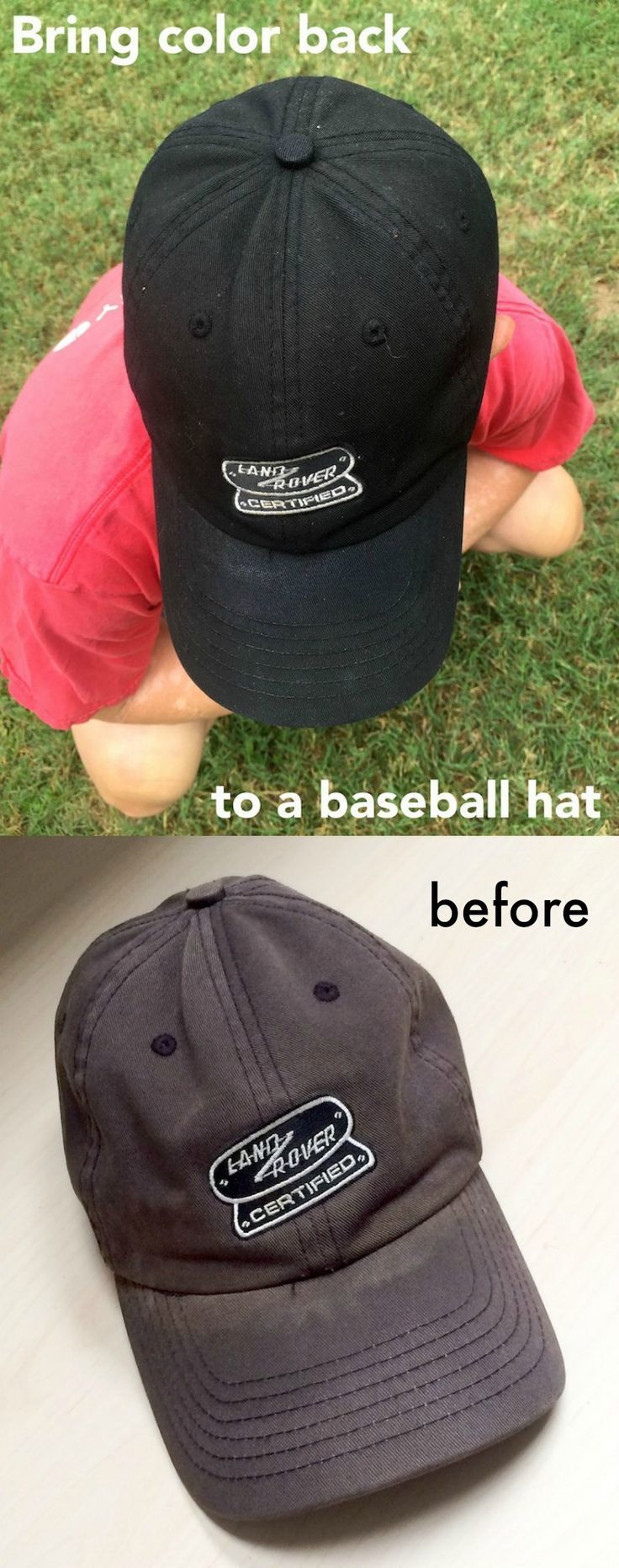 How to bring color back to a baseball hat baseball hats