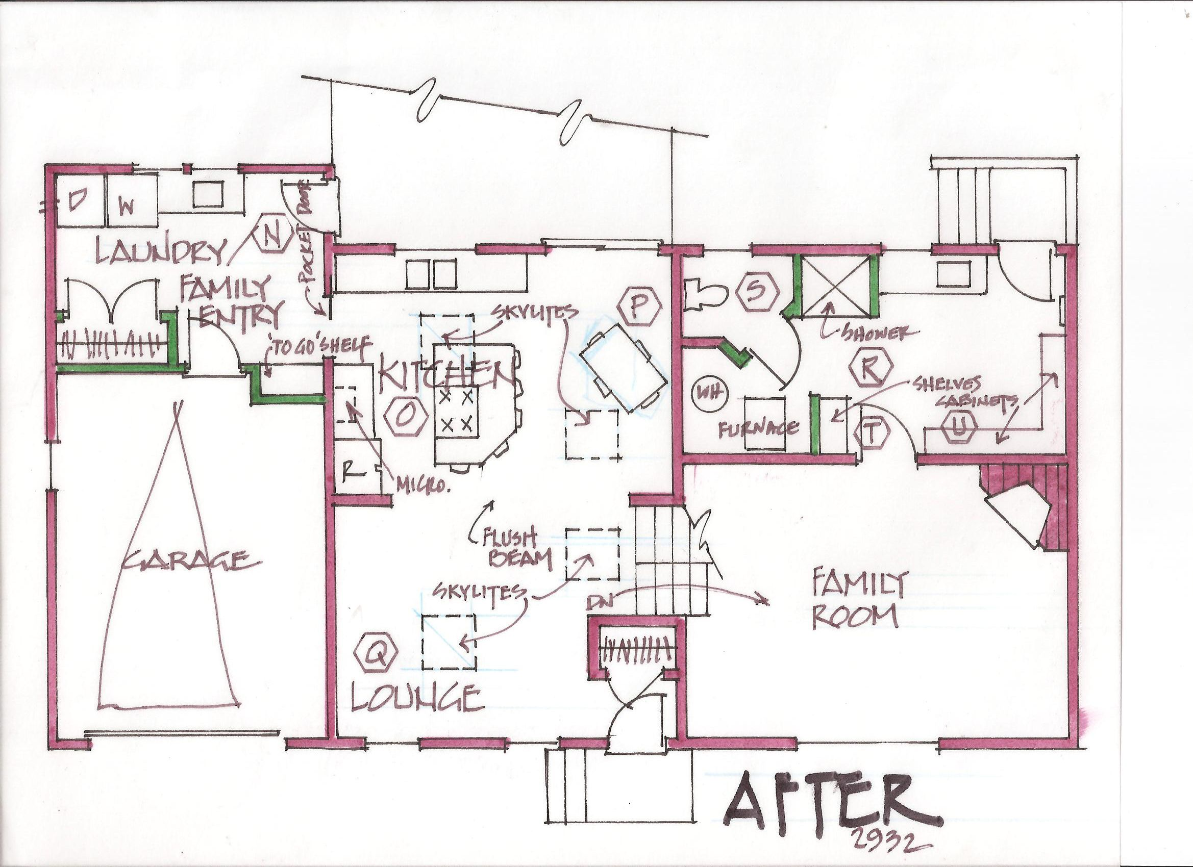 Tri-levels and split-levels are the most challenging to remodel ...