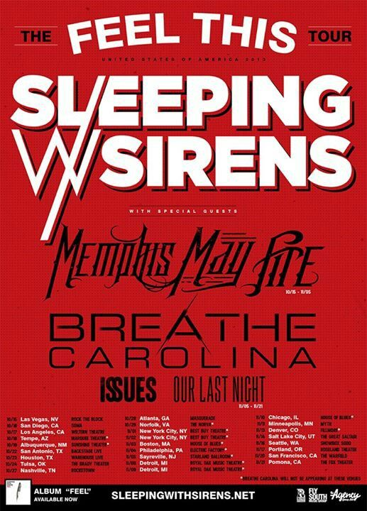 Pin by Jada Marshall on Sleeping with Sirens in 2019
