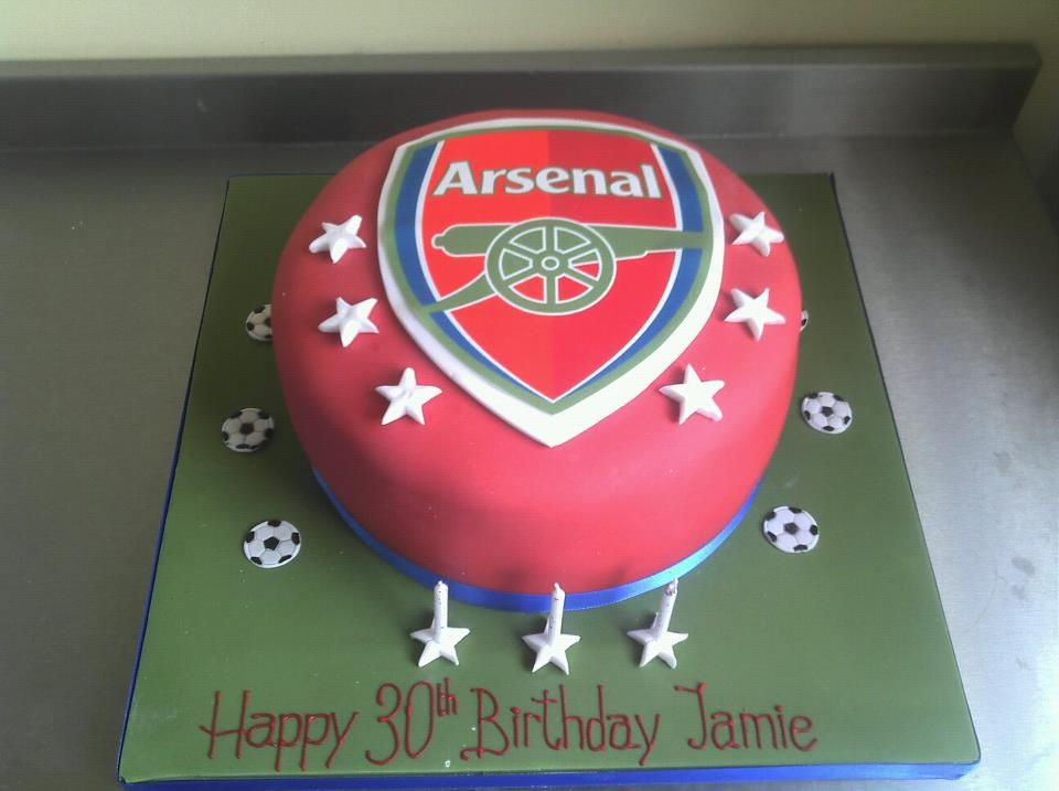 145 best Arsenal Cakes images on Pinterest Arsenal Birthday